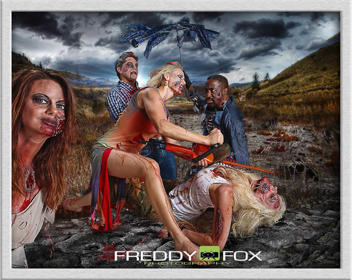 Zombie rehab shoot by photographer Freddy Fox