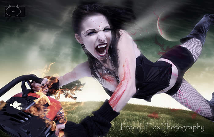 Fantasy photography by Freddy Fox. Dark images. Halloween. Vampires.