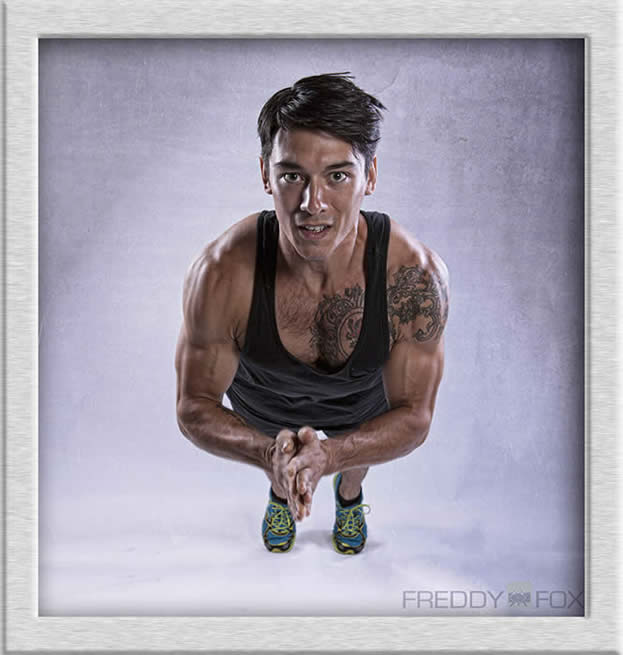 Fitness photography by Freddy Fox